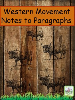 Western Movement Notes to Paragraphs