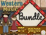 Western Music Decor - Bundle
