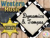 Western Music Decor - Dynamics & Tempos