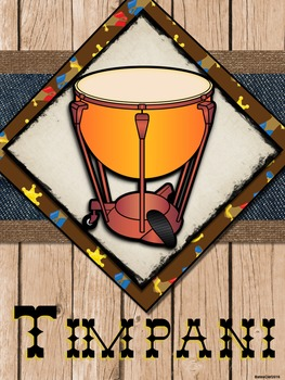 Western Music Decor - Orchestra Posters
