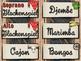 Western Music Decor - Orff Instrument Labels
