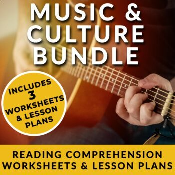 Music and Culture - ESL Readings on Opera, Graffiti & Punk w/ FULL Lesson plans