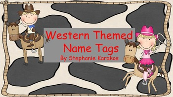 Western Name Tags Edited