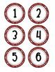 Western Number Cards