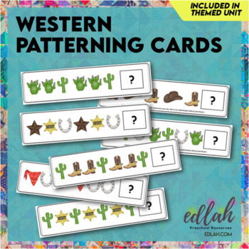 Western Patterning Cards