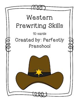Western Prewriting Skills