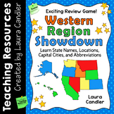 Western Region Showdown | States and Capitals Game