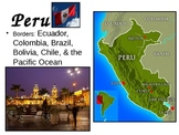 Western South America ppt