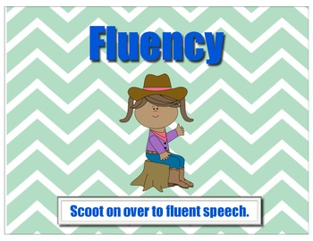 Western Speech Therapy Posters