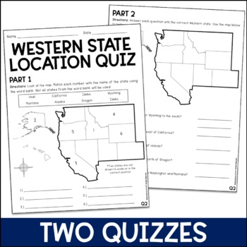 Western State Locations