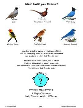 Western States Bird Lesson and Bird Prediction Trick
