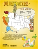 Western States-'Our United States Series' 32-Page Thematic Booklet