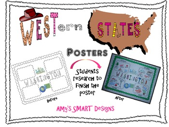 Western States Posters