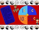 Western Style Coin Values Game-Differentiated