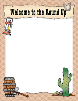 Western Style Welcome Sign