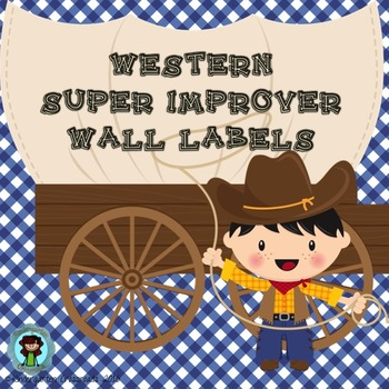 Western Super Improver Wall Labels