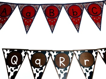 Western Themed Banner