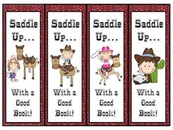 Western Theme Bookmarks