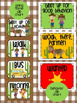 Western Theme Classroom {Decor, Classroom Management, & Resources}