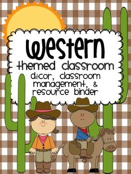 Western Theme Classroom {Decor, Classroom Management, & Re