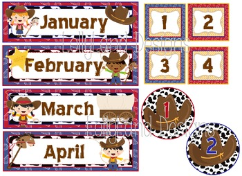 Western Theme Classroom Decoration Pack