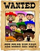 Western Theme Color Hat Gang Editable PDF Color Posters -