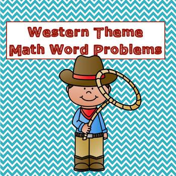 Western Theme Math Word Problems