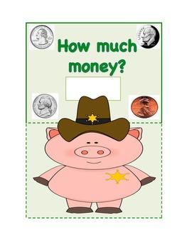 Western Theme Money Sheet