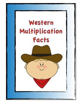 Western Theme Multiplication facts w/o answers