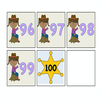 Western Theme Numbers