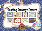 Western Theme Reading Strategy Posters