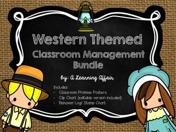 Western Themed Behavior Bundle