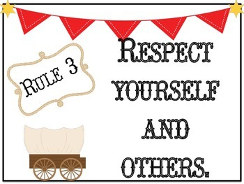 Class Rules: Western Themed