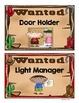 Western Themed Classroom Jobs