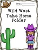 Western Themed Folder Templates (Color)