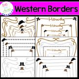 Borders / Frames: Western themed