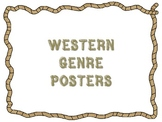 Western Themed Genre Posters