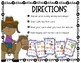 Western Themed Multiplication -  an I Have Who Has? Game