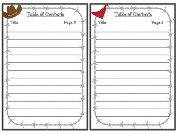 Interactive Journal Covers: Western Themed