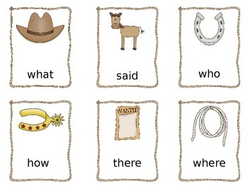 Western Themed Literacy and Math Unit