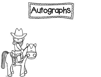 Western Themed Memory Book