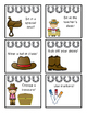Western Themed Reward Coupons