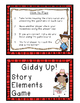 Story Elements Game: 30 Story Cards, Anchor Chart, Game Board, Answer Key
