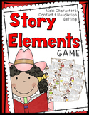 Story Elements Game: 30 Story Cards, Anchor Chart, Game Bo