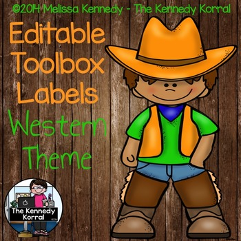 Toolbox Labels: Western