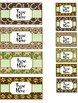 Teacher's Toolbox Labels {Western Theme}