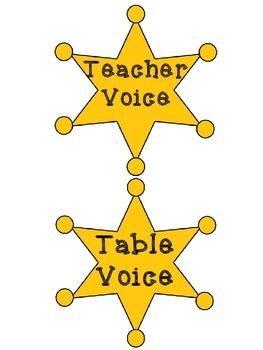 Voice Level Indicator Western Theme