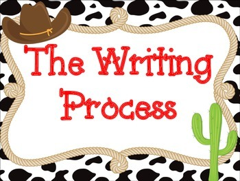 Writing Process: Western Themed