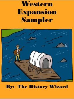 Western Expansion Sampler (4 Lesson Plans)