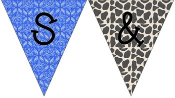 Western Welcome Bunting Banner for Back to School